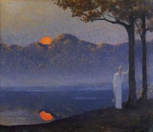 Alphonse osbert muse at sunrise